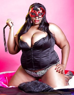 Ebony BBW sex